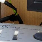 Roland USBオーディオインターフェースUA-30 をミキサーandボリュームコントローラとしてスタンドアロンで使う