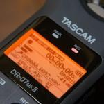 リニアPCMレコーダー DR-07MK2の(キーン)高周波ノイズ対策にアルミ包みが効果ありそうな件