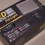 格安LEDライト UTEBIT PT-C-204S 購入レポート